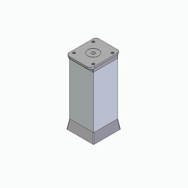 Stopka ALU 40x40 regulowana (CK40.ZT)